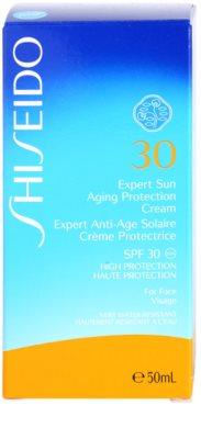 Shiseido Sun Protection crema de soare pentru fata SPF 30 2