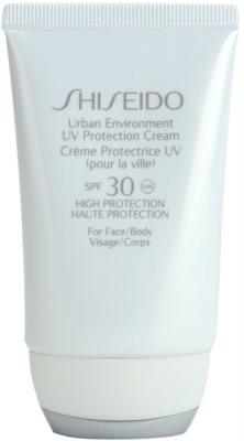 Shiseido Sun Protection crema hidratante protectora SPF 30
