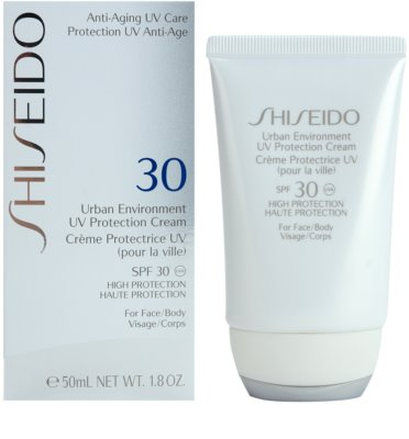 Shiseido Sun Protection crema hidratante protectora SPF 30 1