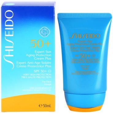 Shiseido Sun Protection creme solar facial SPF 50+ 1