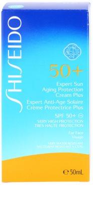 Shiseido Sun Protection creme solar facial SPF 50+ 2