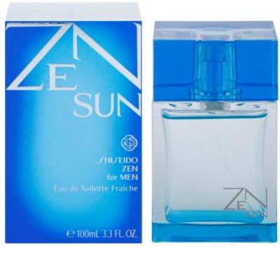 Shiseido Zen Sun for Men 2014 Eau de Toilette para homens