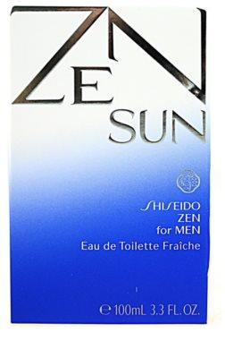 Shiseido Zen Sun for Men Eau de Toilette für Herren 4