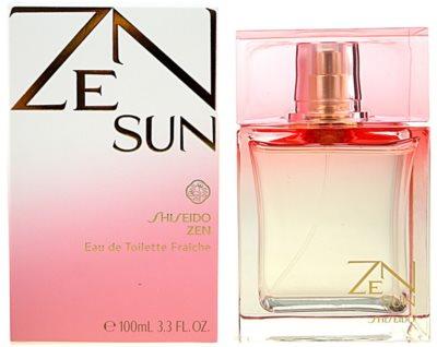 Shiseido Zen Sun eau de toilette nőknek
