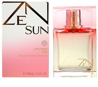 Shiseido Zen Sun toaletní voda pro ženy