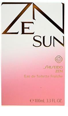Shiseido Zen Sun toaletní voda pro ženy 4