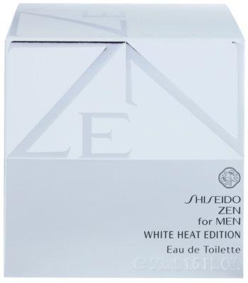 Shiseido Zen for Men White Heat Edition eau de toilette férfiaknak 1