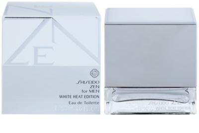Shiseido Zen for Men White Heat Edition eau de toilette férfiaknak