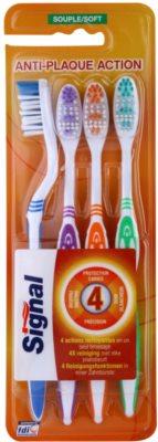 Signal Anti-Plaque Action escovas soft 4 unds