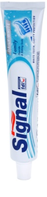 Signal Daily White dentífrico com efeito branqueador