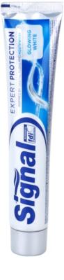 Signal Expert Protection Glowing White pasta de dinti pentru dinti albi si stralucitori