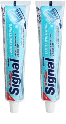 Signal Family Whitening Zahnpasta mit bleichender Wirkung