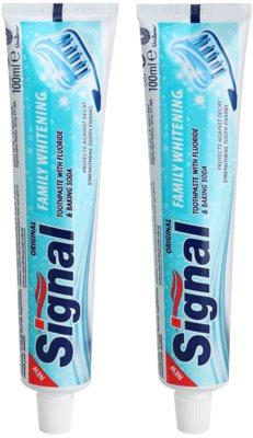 Signal Family Whitening паста за зъби с избелващ ефект