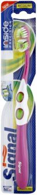 Signal Inside Precision escova de dentes medium