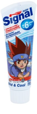 Signal Junior Beyblade pasta de dentes para crianças