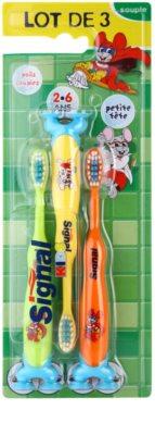 Signal Kids cepillo de dientes para niños 3 uds