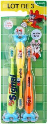 Signal Kids periuta de dinti pentru copii 3 pc