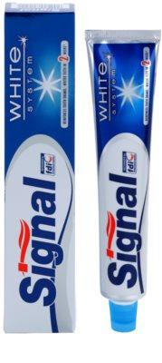 Signal White System pasta do zębów o działaniu wybielającym 1