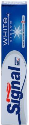 Signal White System pasta do zębów o działaniu wybielającym 2