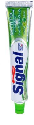 Signal White System Naturals pasta de dinti din ingrediente naturale pentru dinti mai albi