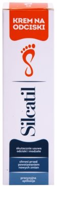 Silcatil Foot Care bőrpuhító krém bőrkeményedés és tyúkszem ellen 2