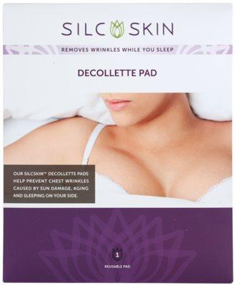 SilcSkin Decollette Pad almohadillas de silicona antiarrugas para la zona del escote