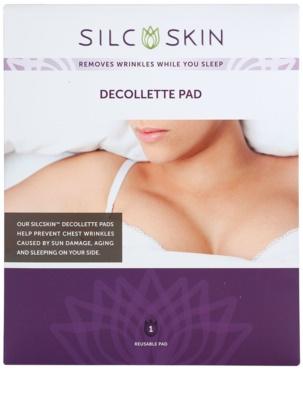 SilcSkin Decollette Pad szilikon párnácskák a dekoltázs ráncai ellen