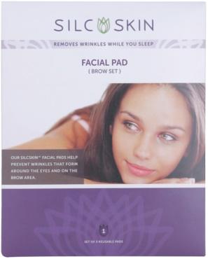 SilcSkin Facial Pad almofadinha de silicone contra rugas nas zonas de testa e olhos