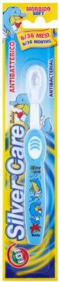 SilverCare Baby antibakteriální zubní kartáček pro děti soft