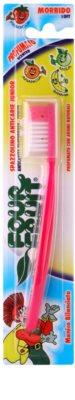 SilverCare Four Fruit Strawberry escova de dentes para crianças com aroma soft