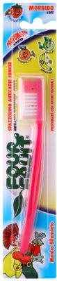 SilverCare Four Fruit Strawberry zobna sčetka za otroke z vonjem soft