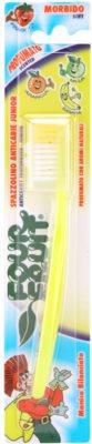 SilverCare Four Fruit Banana escova de dentes para crianças com aroma soft
