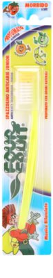 SilverCare Four Fruit Banana zubní kartáček pro děti s vůní soft