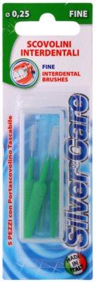 SilverCare Interdental Care міжзубні щітки з футляром 5 шт