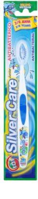 SilverCare Junior antibakteriální zubní kartáček pro děti medium