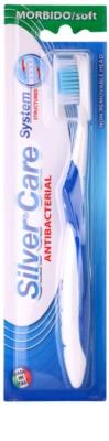 SilverCare System Structured antibakterielle Zahnbürste weich