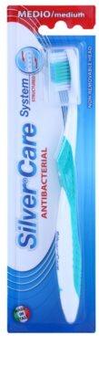 SilverCare System Structured antibakteriální zubní kartáček medium