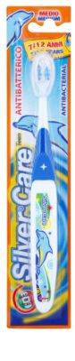 SilverCare Teen cepillo dental antibacteriano para niños medio