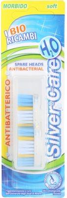 SilverCare H2O cabeças de reposição para escova de dentes suave