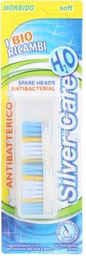 SilverCare H2O náhradní hlavice pro zubní kartáček měkký