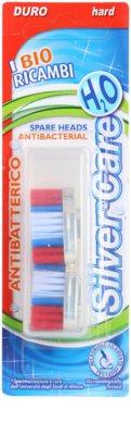 SilverCare H2O cabeças de reposição para escova de dentes dura