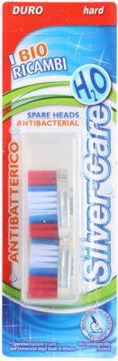 SilverCare H2O náhradní hlavice pro zubní kartáček hard