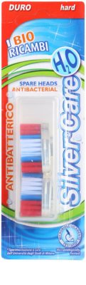 SilverCare H2O Replacement Heads For Toothbrush Hard