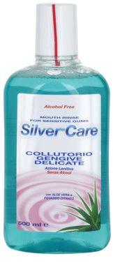 SilverCare Sensitive Mundwasser für empfindliches Zahnfleisch