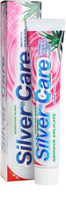 SilverCare Sensitive pasta de dinti pentru gingii sensibile 2