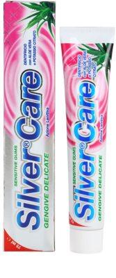 SilverCare Sensitive Zahnpasta für empfindliches Zahnfleisch 1