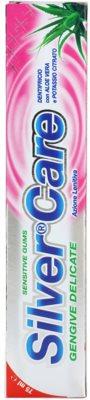 SilverCare Sensitive Zahnpasta für empfindliches Zahnfleisch 3