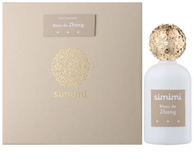 Simimi Blanc de Zhang Eau de Parfum für Damen