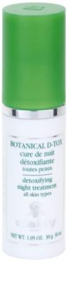 Sisley Botanical D-Tox sérum de noche para todo tipo de pieles