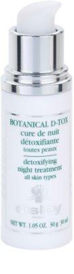 Sisley Botanical D-Tox noční sérum pro všechny typy pleti 1